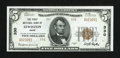 National Bank Notes:Maine, Lewiston, ME - $5 1929 Ty. 2 The First NB Ch. # 330. ...