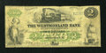 Canadian Currency: , Moncton, NB- The Westmorland Bank $2 Aug. 1, 1861 Ch. # 800-12-04a . ...