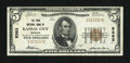 National Bank Notes:Missouri, Kansas City, MO - $5 1929 Ty. 1 The Park NB Ch. # 9383. ...