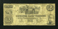 Canadian Currency: , Toronto, UC- The Exchange Bank of Toronto $2 May 1, 1855 Ch. #255-10-04R Remainder. ...
