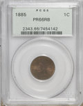 Proof Indian Cents: , 1885 1C PR66 Red and Brown PCGS. PCGS Population (32/16). NGC Census: (44/10). Mintage: 3,790. Numismedia Wsl. Price for NG...