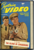 Golden Age (1938-1955):Science Fiction, Captain Video #4-6 Bound Volume (Fawcett, 1951)....