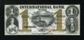 Canadian Currency: , Toronto, CW- The International Bank $1 Sept. 15, 1858 Ch. #380-10-08-04. ...