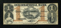 Canadian Currency: , Toronto, CW- The International Bank $1 Sept. 15, 1858 Ch. #380-10-10-04. ...