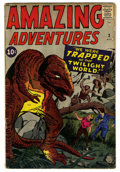 Silver Age (1956-1969):Horror, Amazing Adventures #3 (Marvel, 1961) Condition: GD/VG....