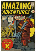 Silver Age (1956-1969):Horror, Amazing Adventures #4 (Marvel, 1961) Condition: FN/VF....