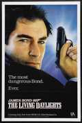 "Movie Posters:James Bond, The Living Daylights (United Artists, 1987). One Sheet (27"" X 41"")Advance. James Bond Action. Starring Timothy Dalton, Mary..."