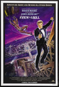 "Movie Posters:James Bond, A View to a Kill (MGM, 1985). One Sheet (27"" X 41"") Advance. JamesBond Action. Starring Roger Moore, Christopher Walken, Ta..."