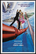 "Movie Posters:James Bond, A View to a Kill (MGM, 1985). One Sheet (27"" X 41""). James BondAction. Starring Roger Moore, Christopher Walken, Tanya Robe..."