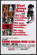 """Movie Posters:James Bond, From Russia with Love (United Artists, R-1980). One Sheet (27"""" X41""""). James Bond Action. Starring Sean Connery, Daniela Bia..."""