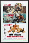 "Movie Posters:James Bond, Thunderball (United Artists, R-1980). One Sheet (27"" X 41""). JamesBond Action. Starring Sean Connery, Claudine Auger, Adolf..."
