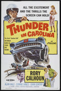 "Movie Posters:Sports, Thunder in Carolina (Howco, 1960). One Sheet (27"" X 41""). Sports...."
