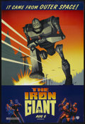 "Movie Posters:Animated, The Iron Giant (Warner Brothers, 1999). One Sheet (27"" X 40"").Animated Adventure. Starring the voices of Jennifer Aniston, ..."