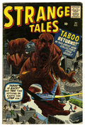 Silver Age (1956-1969):Horror, Strange Tales #77 (Marvel, 1960) Condition: VG/FN....