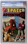 Silver Age (1956-1969):Science Fiction, Space Adventures #51 (Charlton, 1963) CGC VF/NM 9.0 Off-white pages....