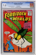Silver Age (1956-1969):Horror, Forbidden Worlds #106 Bethlehem pedigree (ACG, 1962) CGC FN/VF 7.0Off-white pages....
