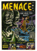 Golden Age (1938-1955):Horror, Menace #1 (Atlas, 1953) Condition: VG....