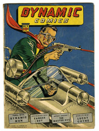 Dynamic Comics #9 (Chesler, 1944) Condition: Apparent GD+