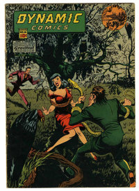 Dynamic Comics #16 (Chesler, 1945) Condition: FN-