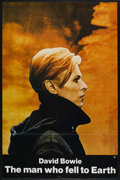 "Movie Posters:Science Fiction, The Man Who Fell to Earth (Cinema 5, 1976). One Sheet (27"" X 41"").Tri-folded. Science Fiction. Starring David Bowie, Candy ..."