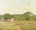 Texas:Early Texas Art - Impressionists, PORFIRIO SALINAS (1910-1973). Untitled Texas Hill Country RanchScene, 1930s to 1940s. Oil on canvas. 20in. x 24in.. Signed ...