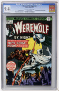 Bronze Age (1970-1979):Horror, Werewolf by Night #33 (Marvel, 1975) CGC NM 9.4 Off-white to whitepages....