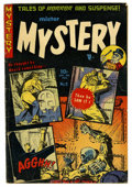 Golden Age (1938-1955):Horror, Mister Mystery #9 (Aragon Magazines, Inc., 1953) Condition:VG/FN....