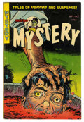Golden Age (1938-1955):Horror, Mister Mystery #13 (Aragon Magazines, Inc., 1953) Condition: FN....