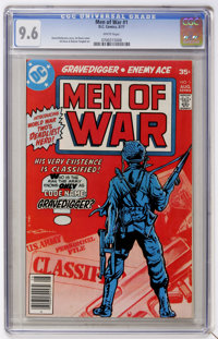 Men of War #1 (DC, 1977) CGC NM+ 9.6 White pages