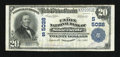 National Bank Notes:West Virginia, Sistersville, WV - $20 1902 Plain Back Fr. 658 The Union NB Ch. #(S)5028. ...