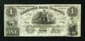 Canadian Currency: , Toronto, UC- The Exchange Bank of Toronto $1 May 1, 1855 Ch. #255-10-02R Remainder. ...