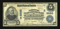 National Bank Notes:Virginia, Richmond, VA - $5 1902 Plain Back Fr. 601 National State & CityBank Ch. #(S)8666. ...