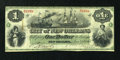 Obsoletes By State:Louisiana, New Orleans, LA- City of New Orleans $1 Jan. 1, 1868. ...