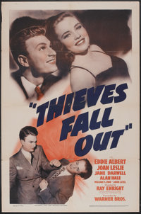 """Thieves Fall Out (Warner Brothers, 1941). One Sheet (27"""" X 41""""). Comedy"""