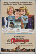 "Movie Posters:Adventure, In Search of the Castaways (Buena Vista, 1962). One Sheet (27"" X41""). Adventure.. ..."