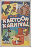 "Movie Posters:Animated, Kartoon Karnival (MGM, 1954). One Sheet (27"" X 41""). Animated...."