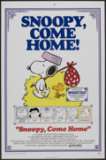 "Movie Posters:Animated, Snoopy, Come Home! (National General, 1972). One Sheet (27"" X 41""). Animated...."