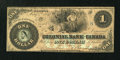 Canadian Currency: , Toronto, CW- The Colonial Bank of Canada $1 May 4, 1859 Ch. #130-10-04-02. ...