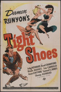 "Movie Posters:Comedy, Tight Shoes (Universal, 1941). One Sheet (27"" X 41""). Comedy...."