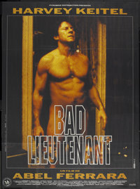 "Bad Lieutenant (Aries Films, 1992). French Grande (46"" X 62""). Crime"