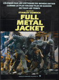 "Movie Posters:War, Full Metal Jacket (Warner Brothers, 1987). French Grande (45"" X61.5""). War...."