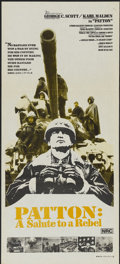 "Movie Posters:Academy Award Winner, Patton (20th Century Fox, 1970). Australian Daybill (13.5"" X 30"").Academy Award Winner...."