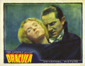 "Movie Posters:Horror, Dracula (Universal, 1931). Lobby Card (11"" X 14"")...."