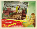 "Movie Posters:Drama, It's a Wonderful Life (RKO, 1946). Lobby Card (11"" X 14"")...."