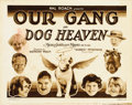 "Movie Posters:Comedy, Dog Heaven (MGM, 1927). Title Lobby Card (11"" X 14"")...."