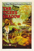"Movie Posters:Serial, The Tiger's Shadow (Pathé, 1928). One Sheet (27"" X 41"") ChapterFive -- ""The Gas Chamber.""..."