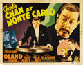 "Movie Posters:Mystery, Charlie Chan at Monte Carlo (20th Century Fox, 1937). Title LobbyCard (11"" X 14"")...."