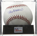 Autographs:Baseballs, Stan Musial Single Signed Baseball, PSA Gem Mint 10. Stan the Mancould seemingly do no wrong when hen donned the St. Louis ...