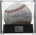 "Autographs:Baseballs, Brooks Robinson ""HOF 83"" Single Signed Baseball, PSA Gem Mint10.The man known as the ""Human Vacuum Cleaner"" has deposited H..."