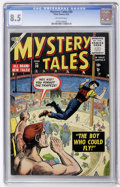 Golden Age (1938-1955):Horror, Mystery Tales #30 (Atlas, 1955) CGC VF+ 8.5 Off-white pages....